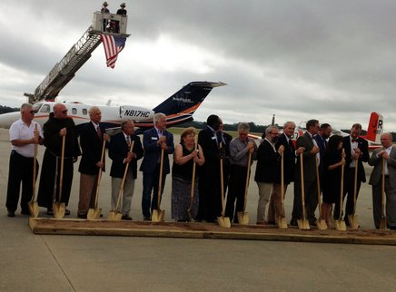 Anderson Regional Airport Celebrates Ribbon Cutting & Groundbreaking
